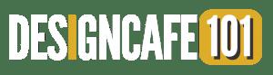 Designcafe101 logo wit